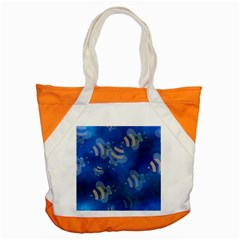 Seamless Bee Tile Cartoon Tilable Design Accent Tote Bag