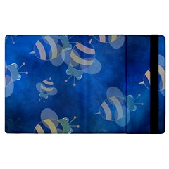 Seamless Bee Tile Cartoon Tilable Design Apple iPad 2 Flip Case