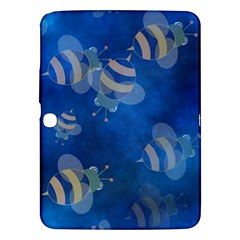 Seamless Bee Tile Cartoon Tilable Design Samsung Galaxy Tab 3 (10.1 ) P5200 Hardshell Case