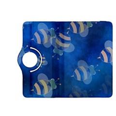Seamless Bee Tile Cartoon Tilable Design Kindle Fire Hdx 8 9  Flip 360 Case