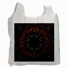 Digitally Created Seamless Pattern Recycle Bag (One Side)