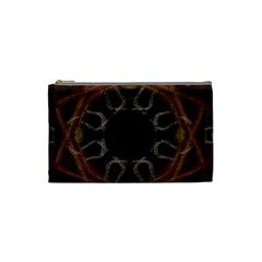 Digitally Created Seamless Pattern Cosmetic Bag (small)