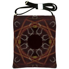 Digitally Created Seamless Pattern Shoulder Sling Bags