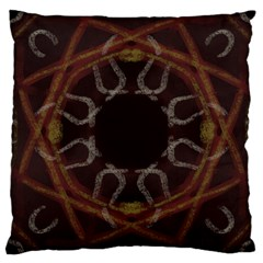 Digitally Created Seamless Pattern Large Cushion Case (one Side)