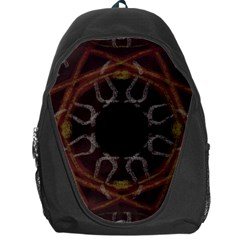 Digitally Created Seamless Pattern Backpack Bag