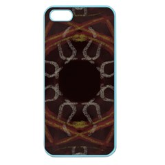 Digitally Created Seamless Pattern Apple Seamless Iphone 5 Case (color)