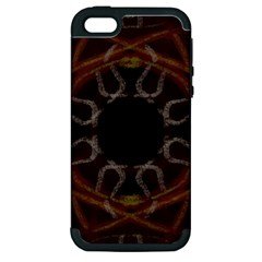 Digitally Created Seamless Pattern Apple iPhone 5 Hardshell Case (PC+Silicone)