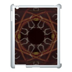 Digitally Created Seamless Pattern Apple Ipad 3/4 Case (white)