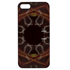 Digitally Created Seamless Pattern Apple Iphone 5 Hardshell Case With Stand