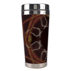 Digitally Created Seamless Pattern Stainless Steel Travel Tumblers