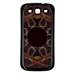 Digitally Created Seamless Pattern Samsung Galaxy S3 Back Case (black)