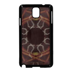 Digitally Created Seamless Pattern Samsung Galaxy Note 3 Neo Hardshell Case (black)