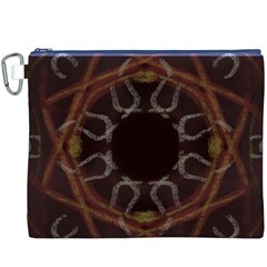 Digitally Created Seamless Pattern Canvas Cosmetic Bag (xxxl)