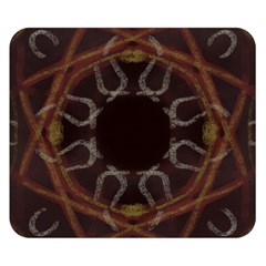 Digitally Created Seamless Pattern Double Sided Flano Blanket (small)