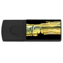 Graves At Side Of Road In Santa Cruz, Argentina USB Flash Drive Rectangular (1 GB)