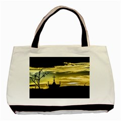 Graves At Side Of Road In Santa Cruz, Argentina Basic Tote Bag