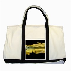 Graves At Side Of Road In Santa Cruz, Argentina Two Tone Tote Bag