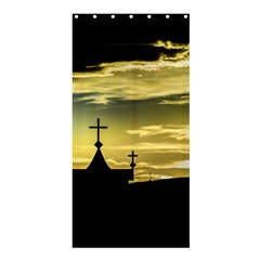 Graves At Side Of Road In Santa Cruz, Argentina Shower Curtain 36  x 72  (Stall)