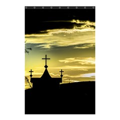 Graves At Side Of Road In Santa Cruz, Argentina Shower Curtain 48  x 72  (Small)