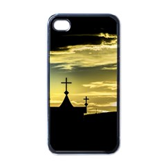 Graves At Side Of Road In Santa Cruz, Argentina Apple iPhone 4 Case (Black)