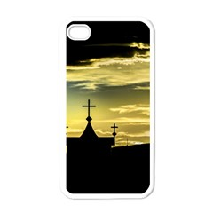 Graves At Side Of Road In Santa Cruz, Argentina Apple iPhone 4 Case (White)
