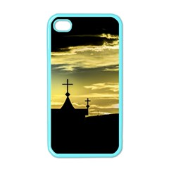 Graves At Side Of Road In Santa Cruz, Argentina Apple iPhone 4 Case (Color)