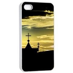 Graves At Side Of Road In Santa Cruz, Argentina Apple iPhone 4/4s Seamless Case (White)