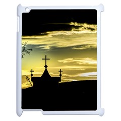 Graves At Side Of Road In Santa Cruz, Argentina Apple iPad 2 Case (White)