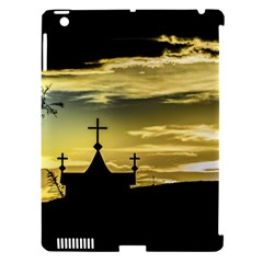 Graves At Side Of Road In Santa Cruz, Argentina Apple iPad 3/4 Hardshell Case (Compatible with Smart Cover)