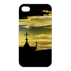 Graves At Side Of Road In Santa Cruz, Argentina Apple iPhone 4/4S Premium Hardshell Case
