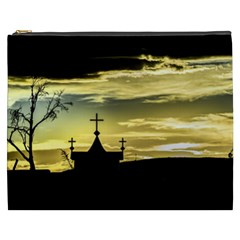 Graves At Side Of Road In Santa Cruz, Argentina Cosmetic Bag (XXXL)