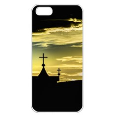 Graves At Side Of Road In Santa Cruz, Argentina Apple iPhone 5 Seamless Case (White)