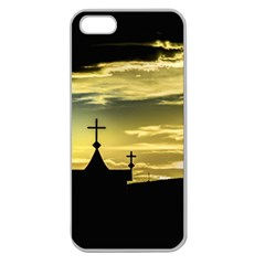 Graves At Side Of Road In Santa Cruz, Argentina Apple Seamless iPhone 5 Case (Clear)