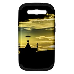 Graves At Side Of Road In Santa Cruz, Argentina Samsung Galaxy S III Hardshell Case (PC+Silicone)