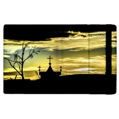 Graves At Side Of Road In Santa Cruz, Argentina Apple iPad 3/4 Flip Case
