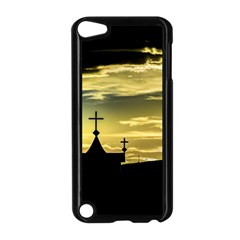 Graves At Side Of Road In Santa Cruz, Argentina Apple iPod Touch 5 Case (Black)