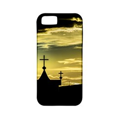 Graves At Side Of Road In Santa Cruz, Argentina Apple iPhone 5 Classic Hardshell Case (PC+Silicone)