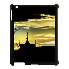 Graves At Side Of Road In Santa Cruz, Argentina Apple iPad 3/4 Case (Black)