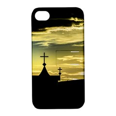 Graves At Side Of Road In Santa Cruz, Argentina Apple iPhone 4/4S Hardshell Case with Stand