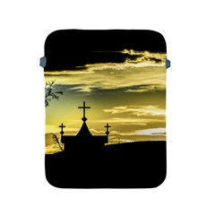 Graves At Side Of Road In Santa Cruz, Argentina Apple iPad 2/3/4 Protective Soft Cases