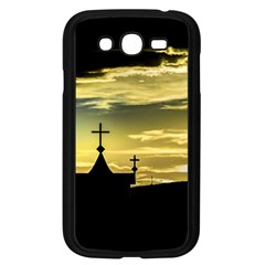 Graves At Side Of Road In Santa Cruz, Argentina Samsung Galaxy Grand DUOS I9082 Case (Black)