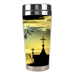 Graves At Side Of Road In Santa Cruz, Argentina Stainless Steel Travel Tumblers