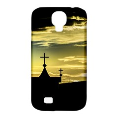 Graves At Side Of Road In Santa Cruz, Argentina Samsung Galaxy S4 Classic Hardshell Case (PC+Silicone)