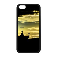 Graves At Side Of Road In Santa Cruz, Argentina Apple iPhone 5C Seamless Case (Black)