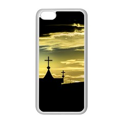 Graves At Side Of Road In Santa Cruz, Argentina Apple iPhone 5C Seamless Case (White)