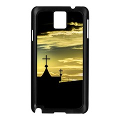 Graves At Side Of Road In Santa Cruz, Argentina Samsung Galaxy Note 3 N9005 Case (Black)