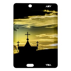 Graves At Side Of Road In Santa Cruz, Argentina Amazon Kindle Fire HD (2013) Hardshell Case