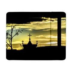 Graves At Side Of Road In Santa Cruz, Argentina Samsung Galaxy Tab Pro 8.4  Flip Case