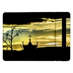 Graves At Side Of Road In Santa Cruz, Argentina Samsung Galaxy Tab Pro 12.2  Flip Case