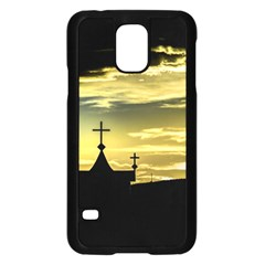 Graves At Side Of Road In Santa Cruz, Argentina Samsung Galaxy S5 Case (Black)